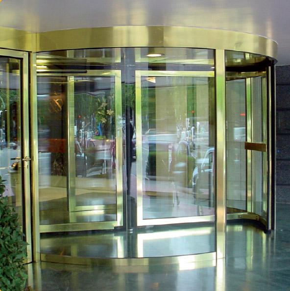 Porte automatiche girevoli e semicircolari 1
