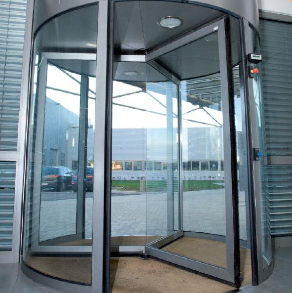 Porte automatiche girevoli e semicircolari 2