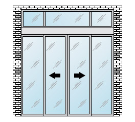 Ingresso-standard-.con-paraluce-porta-automatica